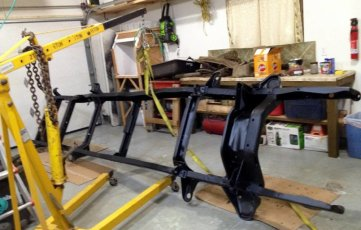 1965 Ford F-100 Frame After