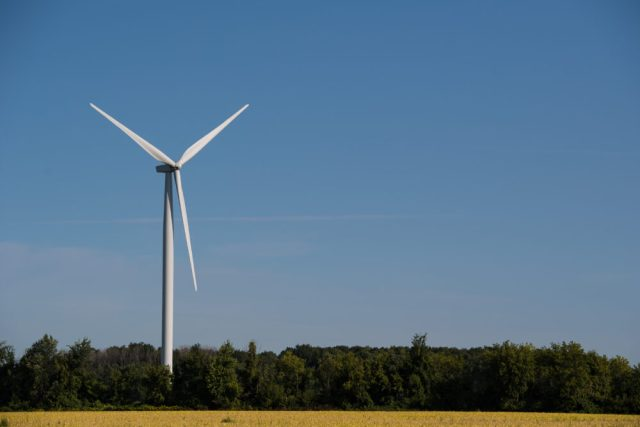 Michigan Wind Energy for Ford