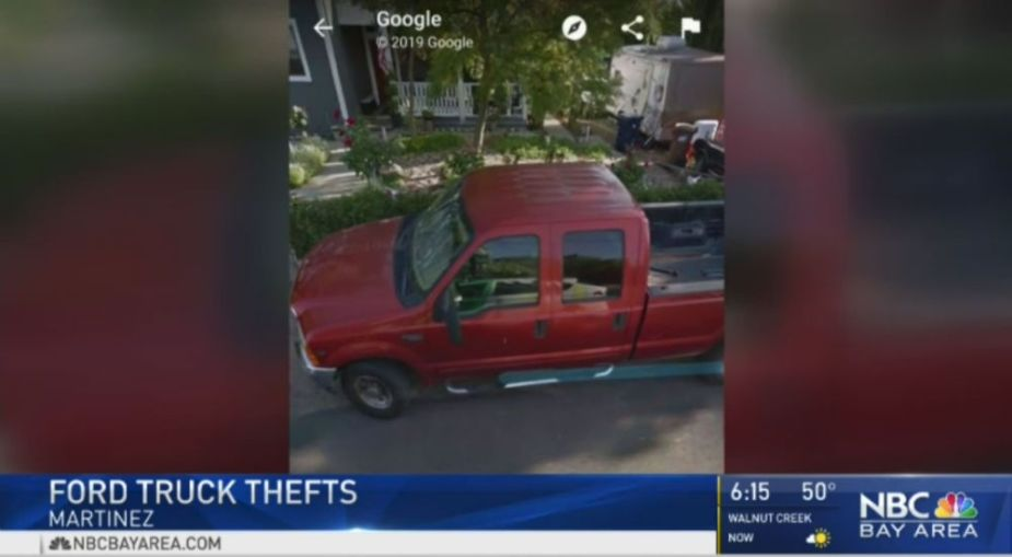 Ford Super Duty Thefts NoCal 2019