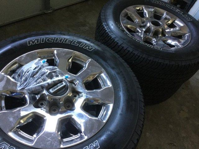 2017 Ford F-150 Lariat Wheels