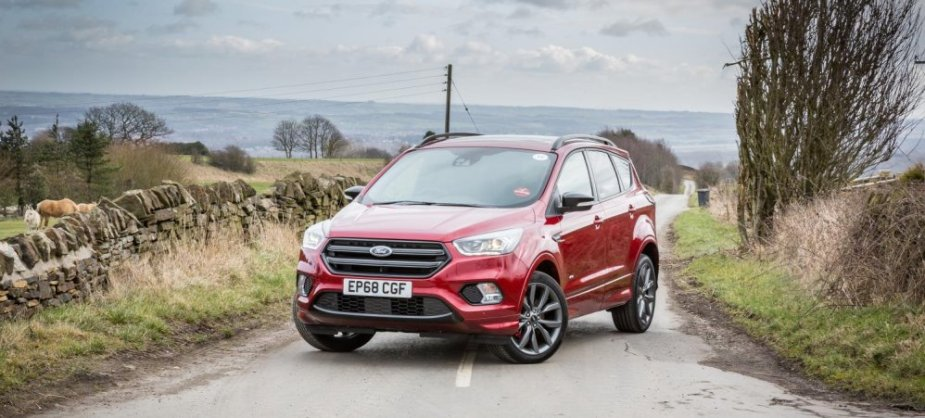 Ford Kuga in Red
