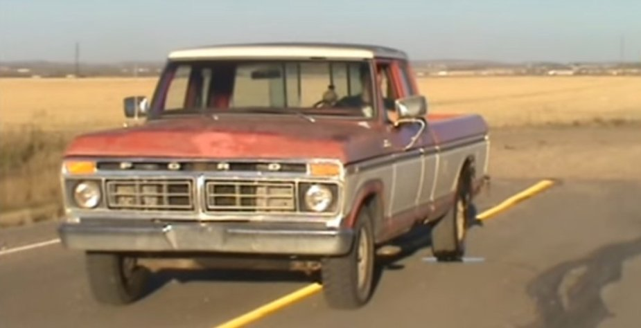 1977 Ford F-150 Burnout Front