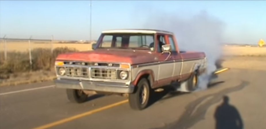 1977 Ford F-150 Burnout Driver Side