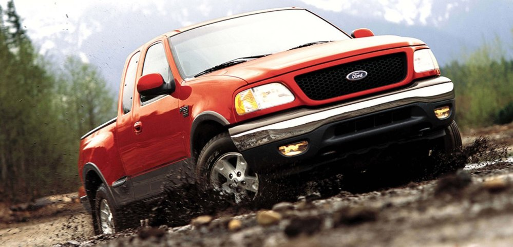 2003 ford f150 in red - Ford-Trucks com