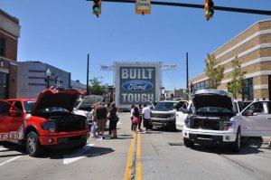 Woodward Ford Truck Display