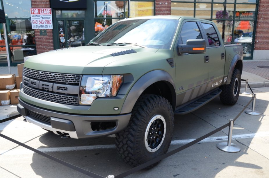 Ford F-150 Raptor in Green