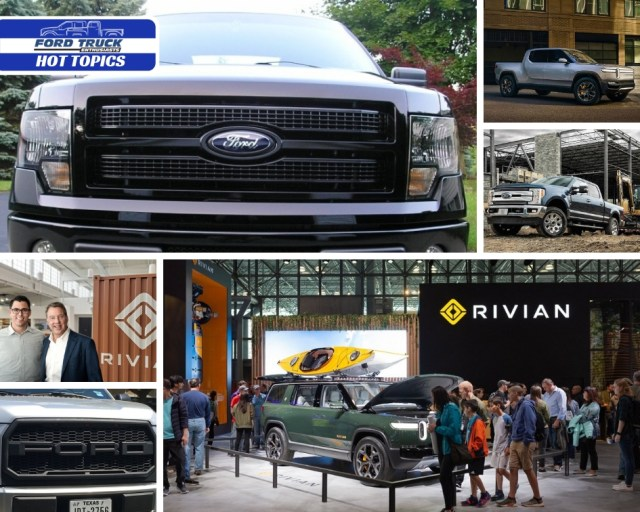 Rivian Ford Trucks $500M Investment Announcement