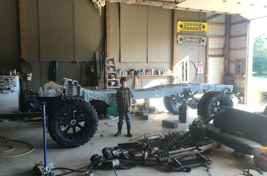 Billy Whitehead 1979 Ford F-350 Build