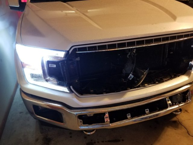 Wrecked Ford F-150