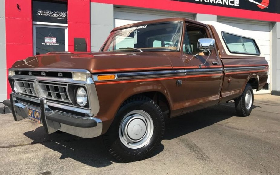 F-150 from 1976 is Like-New and it Packs Diesel Power