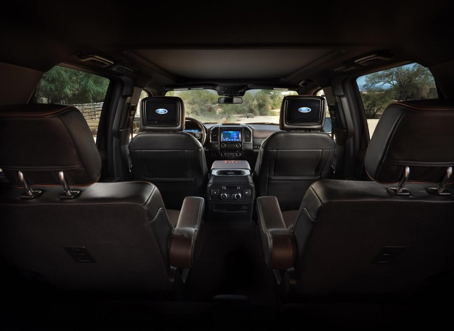 ford expedition debuts new king ranch and platinum trims
