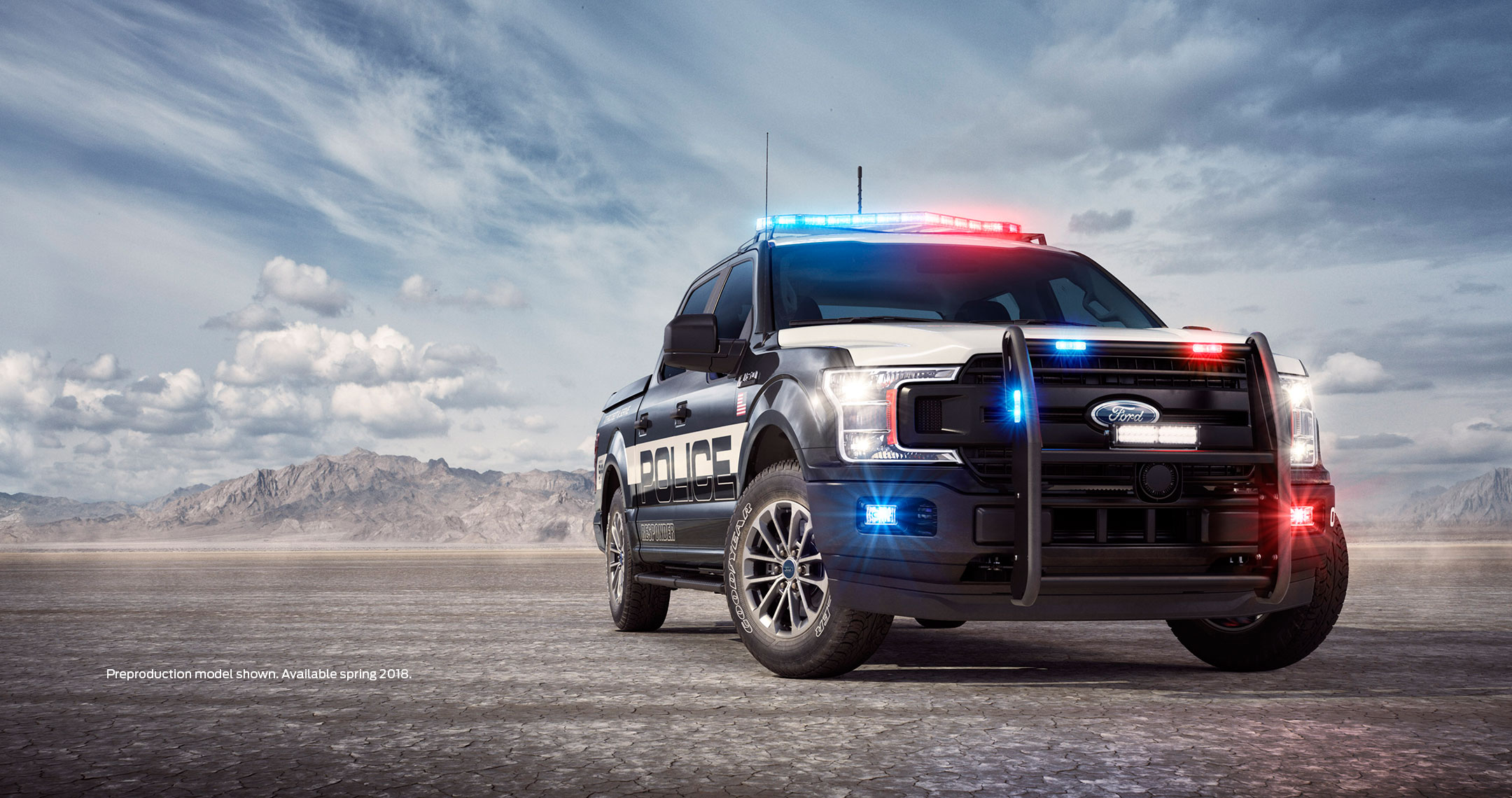 All New Ford F 150 Police Responder Police Truck First