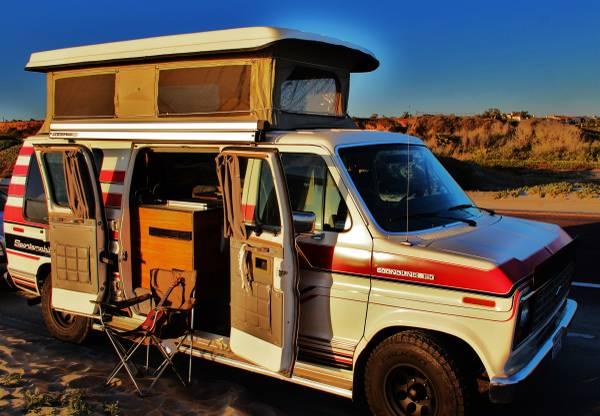 2013 Ford Conversion Camper Van