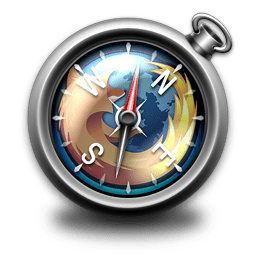 Apple System Browser Compass Series Of Icons Transparent