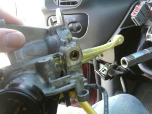 Ignition Cylinder Actuator Rod Replacement (9703 F150)