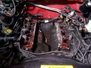 Broken heater hose block connector!  Ford F150 Forum