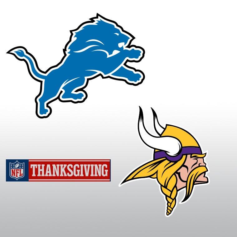 Image result for Thanksgiving Vikings vs. Lions