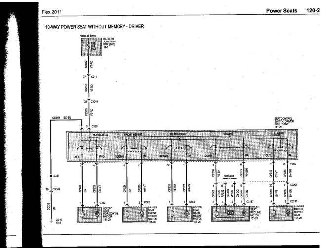2013 ford flex wiring diagram  style 4 flat trailer wiring