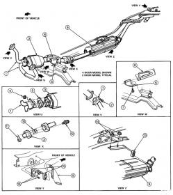 I need a 1994 Ford Explorer exhaust diagram  Ford Forum