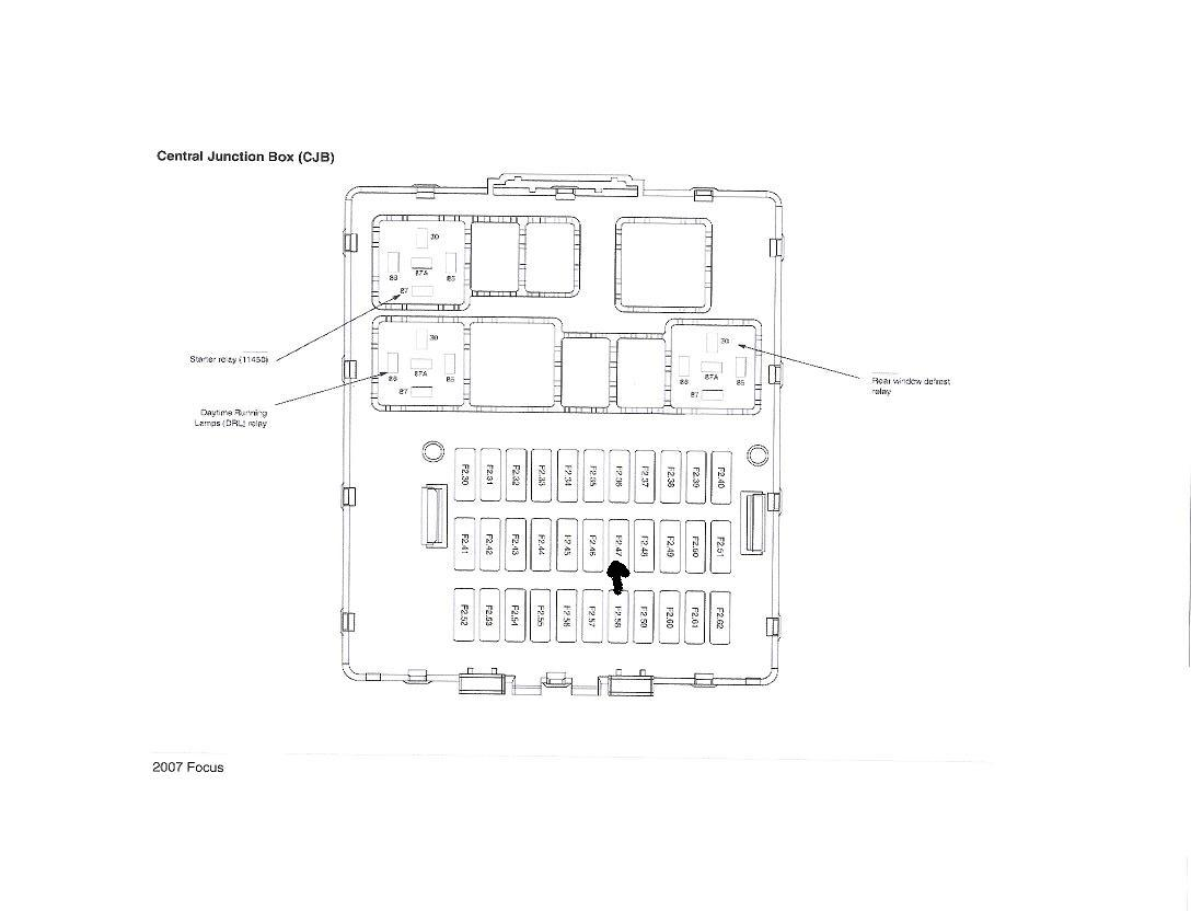 Ford C Max Mk2 Fuse Box Diagram