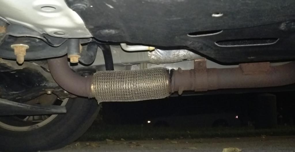 2012 ford edge exhaust leak ford forums