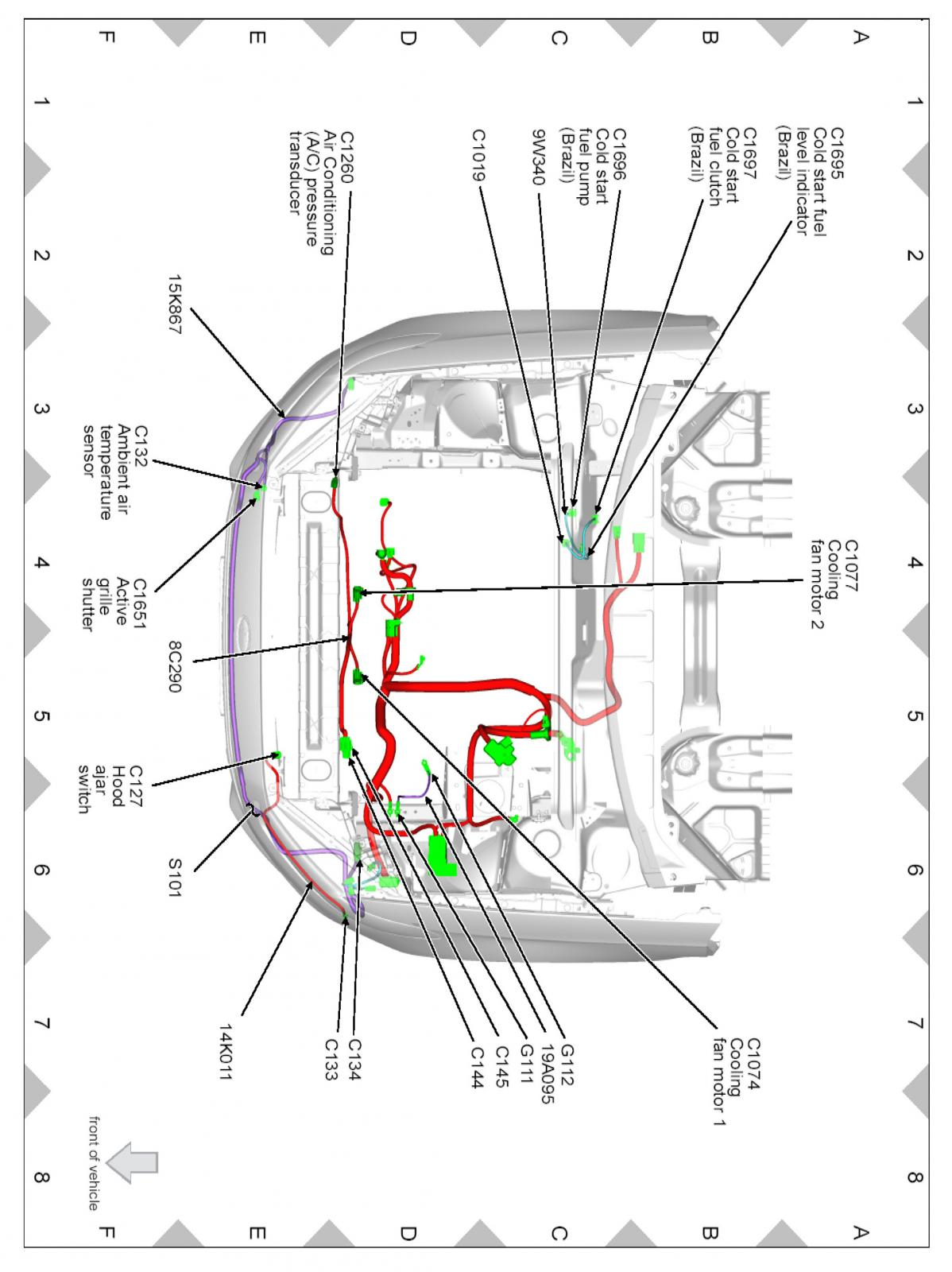 Ford Fusion Hood Latch Wiring Diagram Ford Auto