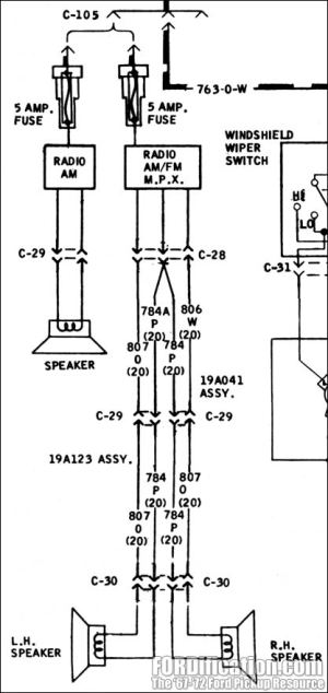 Factory AMFM radio wiring?  The FORDification Forums