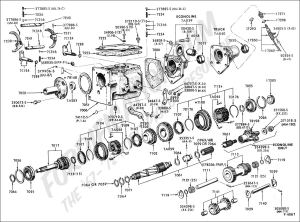 Ford Truck Technical Drawings and Schematics  Section G  Drivetrain (Transmission, Clutch
