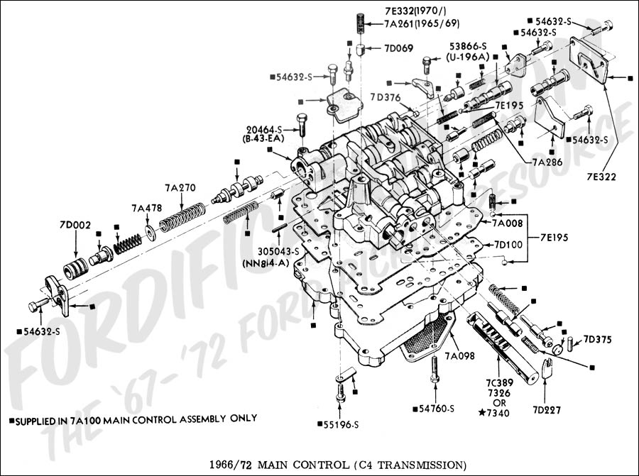 5r55e Valve Body Diagram