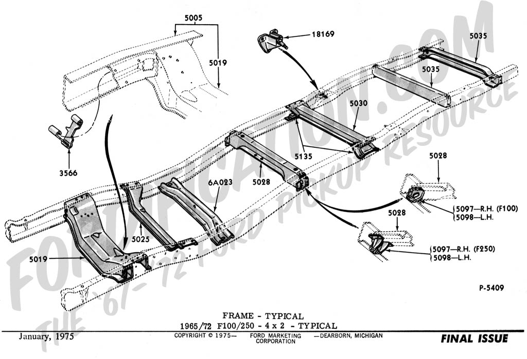 F Body Rear End Swap 1967