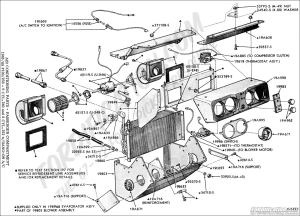 Ford Truck Technical Drawings and Schematics  Section F  HeatingCoolingAirConditioning