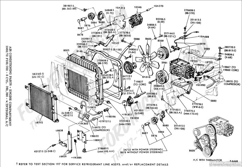 Ford Truck Technical Drawings And