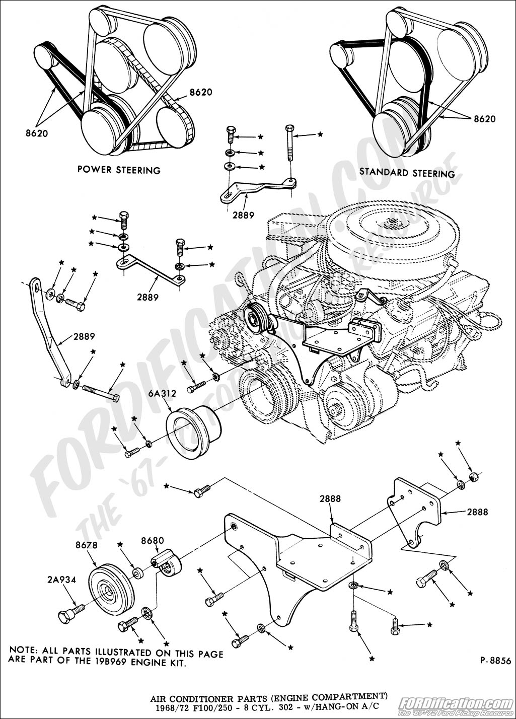V8 Engine Blueprints