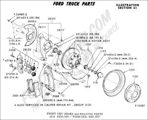 Ford Truck Technical Drawings and Schematics  Section B