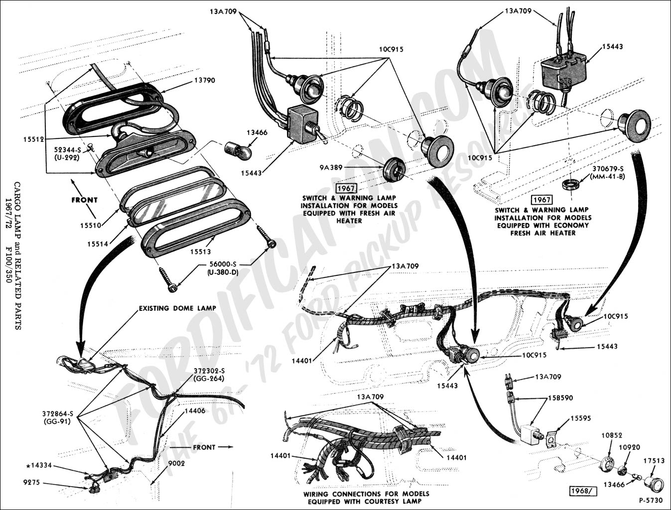 [DIAGRAM] 1964 F100 Brake Light Diagram FULL Version HD