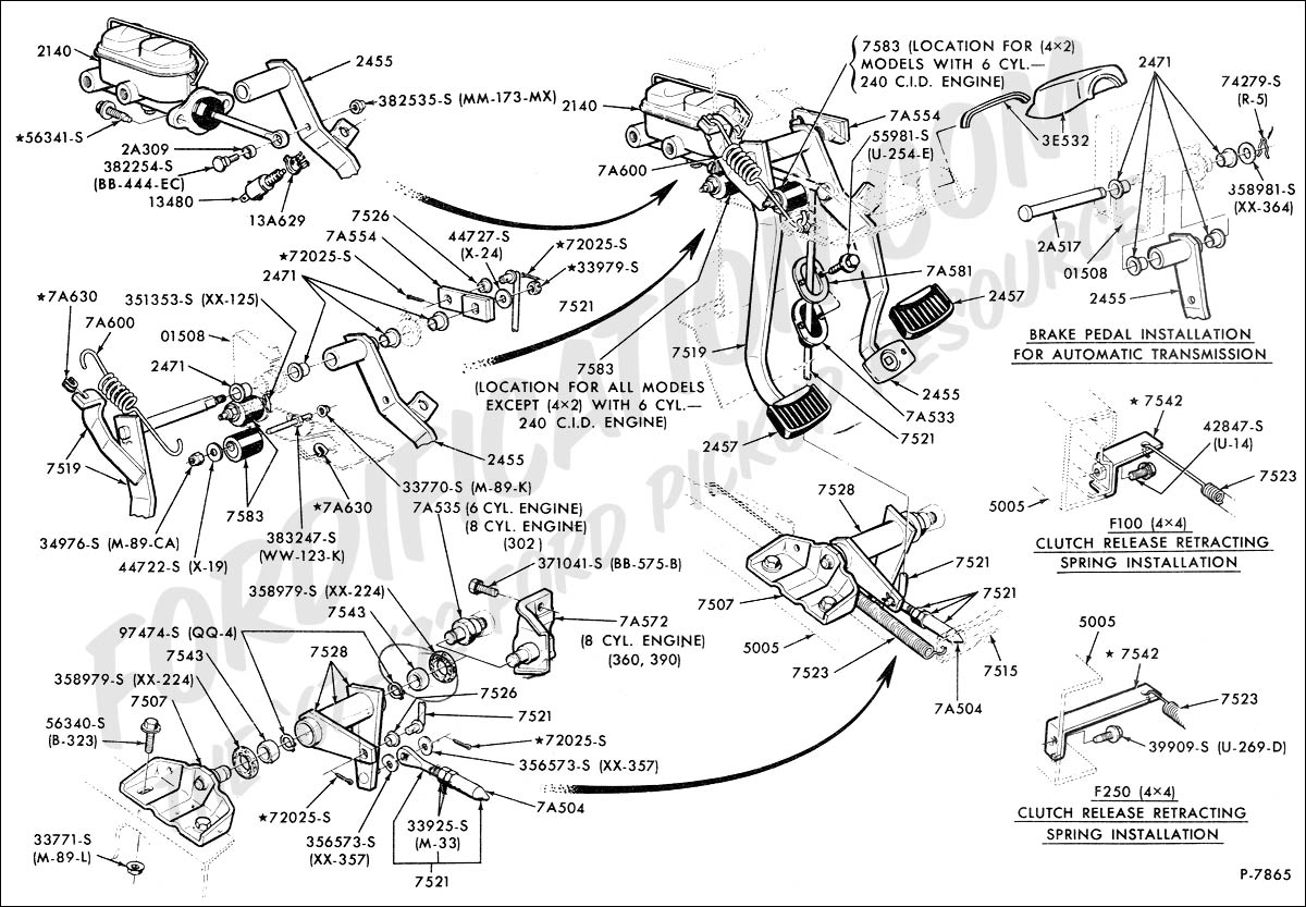 F250 Rocker Arm Diagram