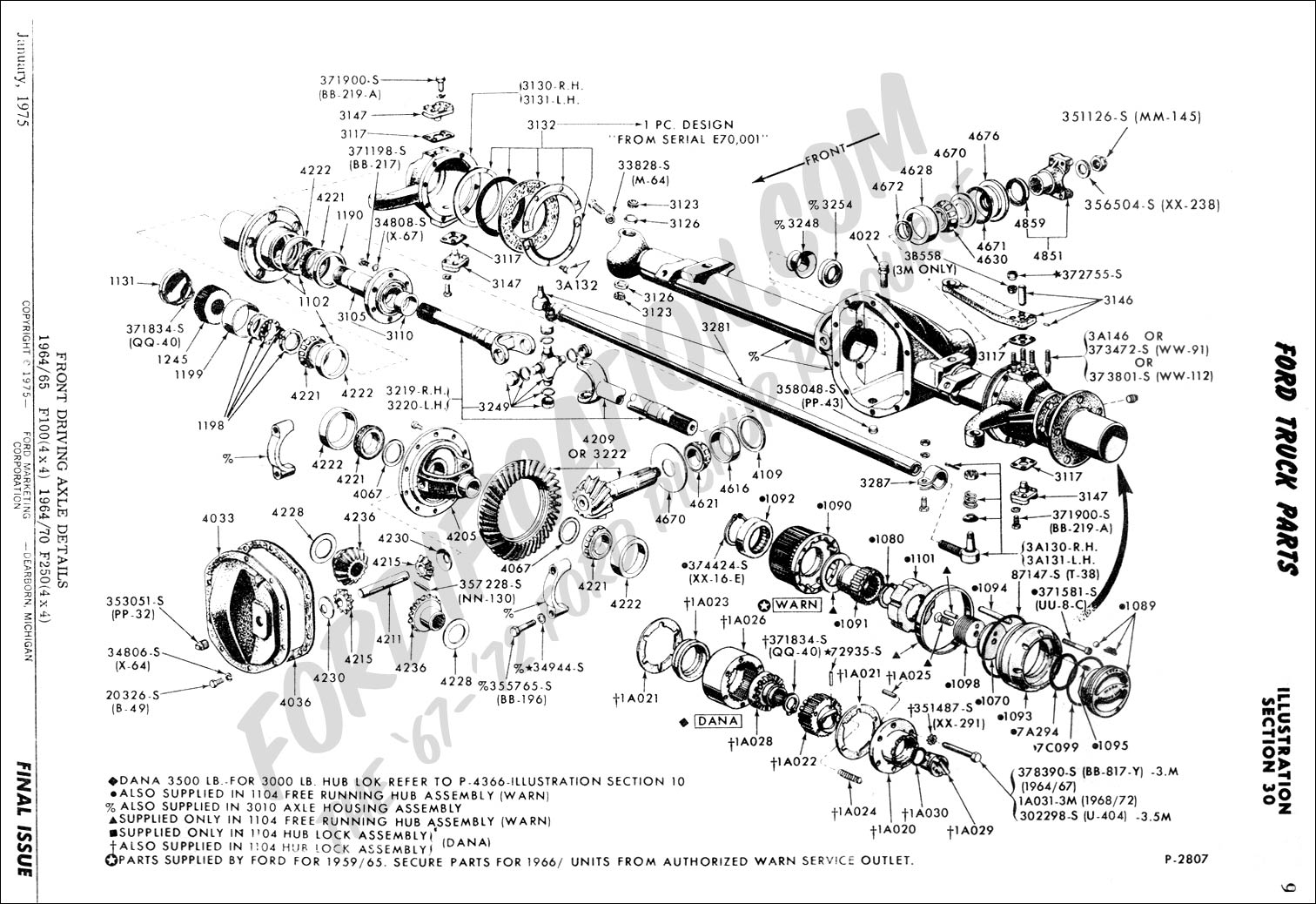 Ford F 250 Super Duty Parts Diagram