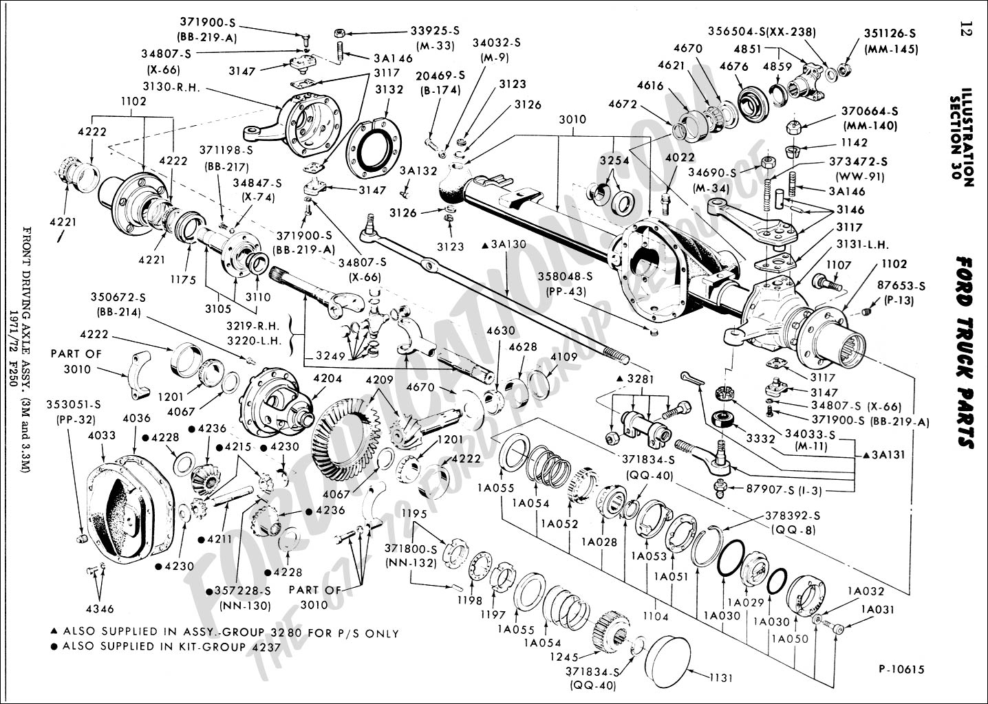 Ford Front Axle Diagram