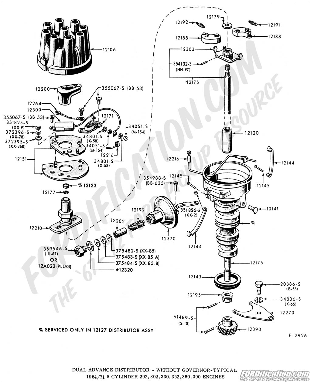 Gm Hei Distributor Exploded View