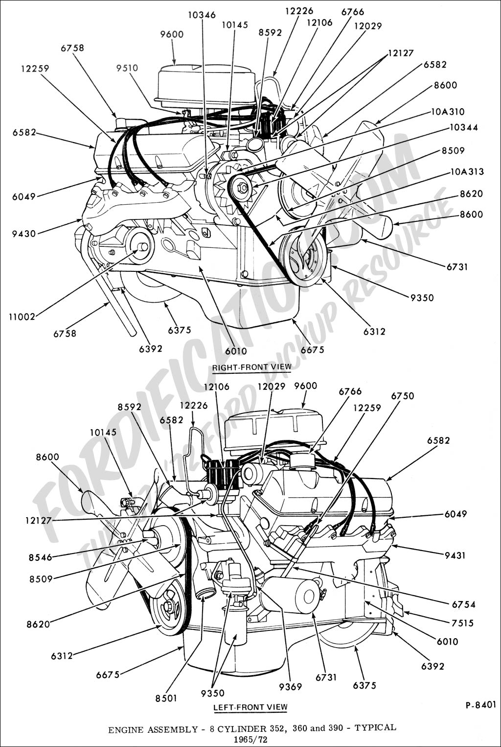 Mustang Engine Diagram