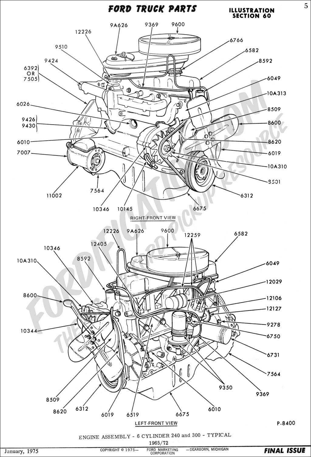 Ford Ranger Engine Schematic