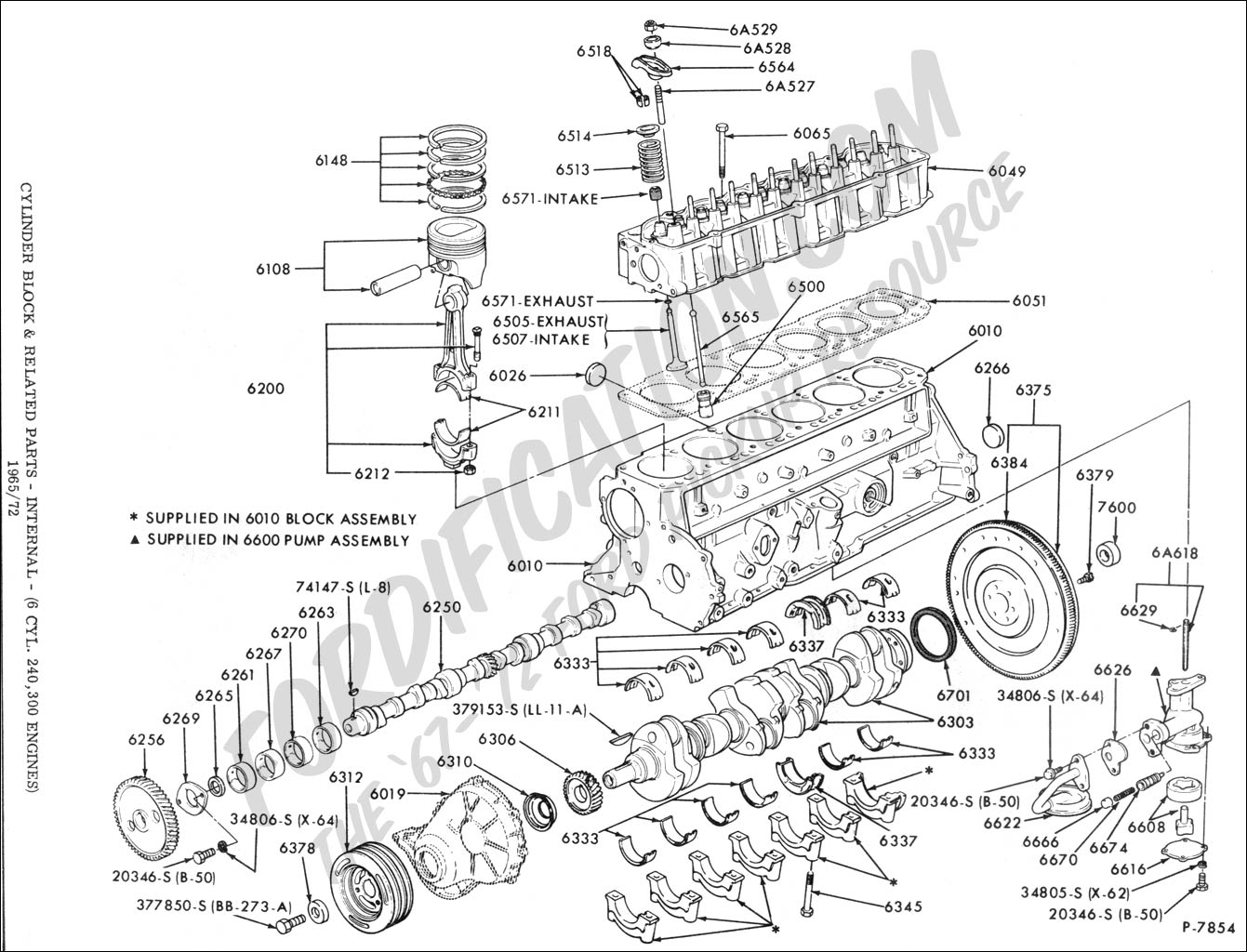 Basic 4 Cylinder Engine Diagram