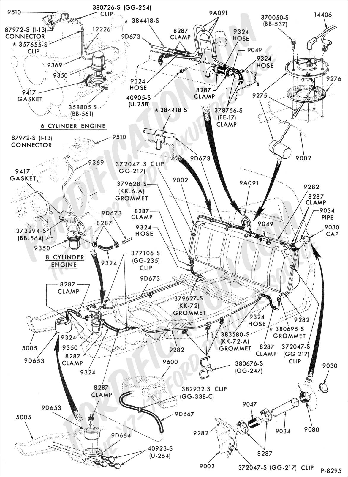 Chevy 6 Cylinder Engine Diagram