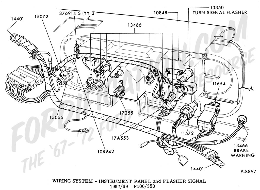 1967 Ford Mustang Alternator Wiring Diagram