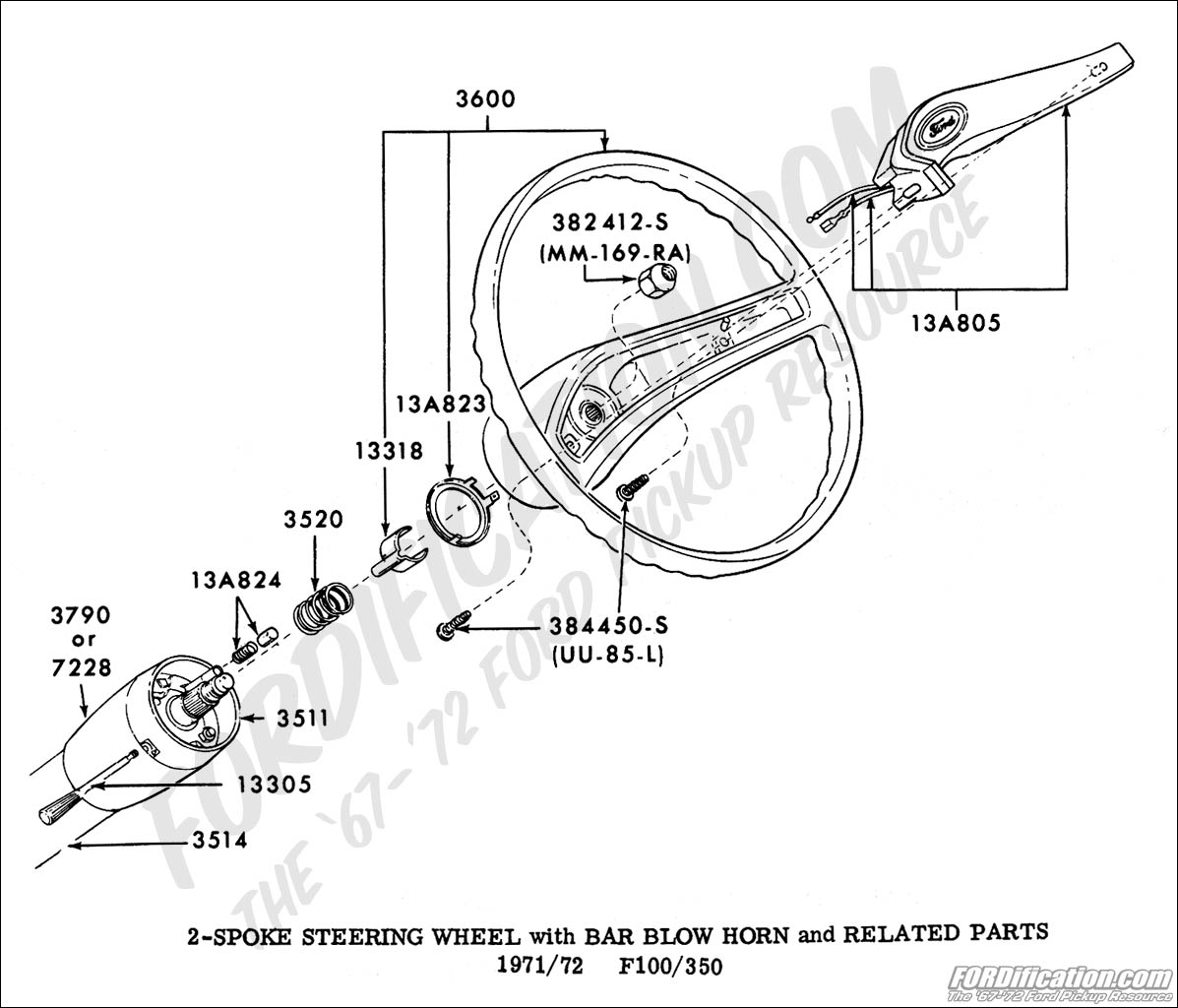 Chevrolet Steering Column Diagram