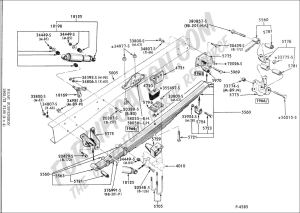 Ford Truck Technical Drawings and Schematics  Section A  FrontRear Axle Assemblies and