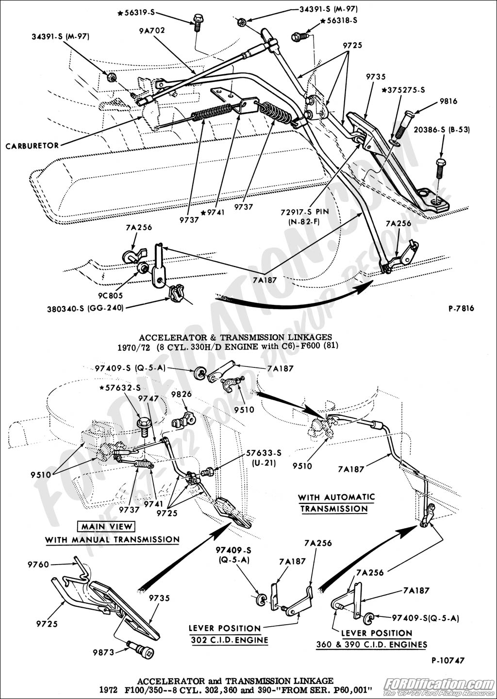 Ford C6 Wiring Diagram