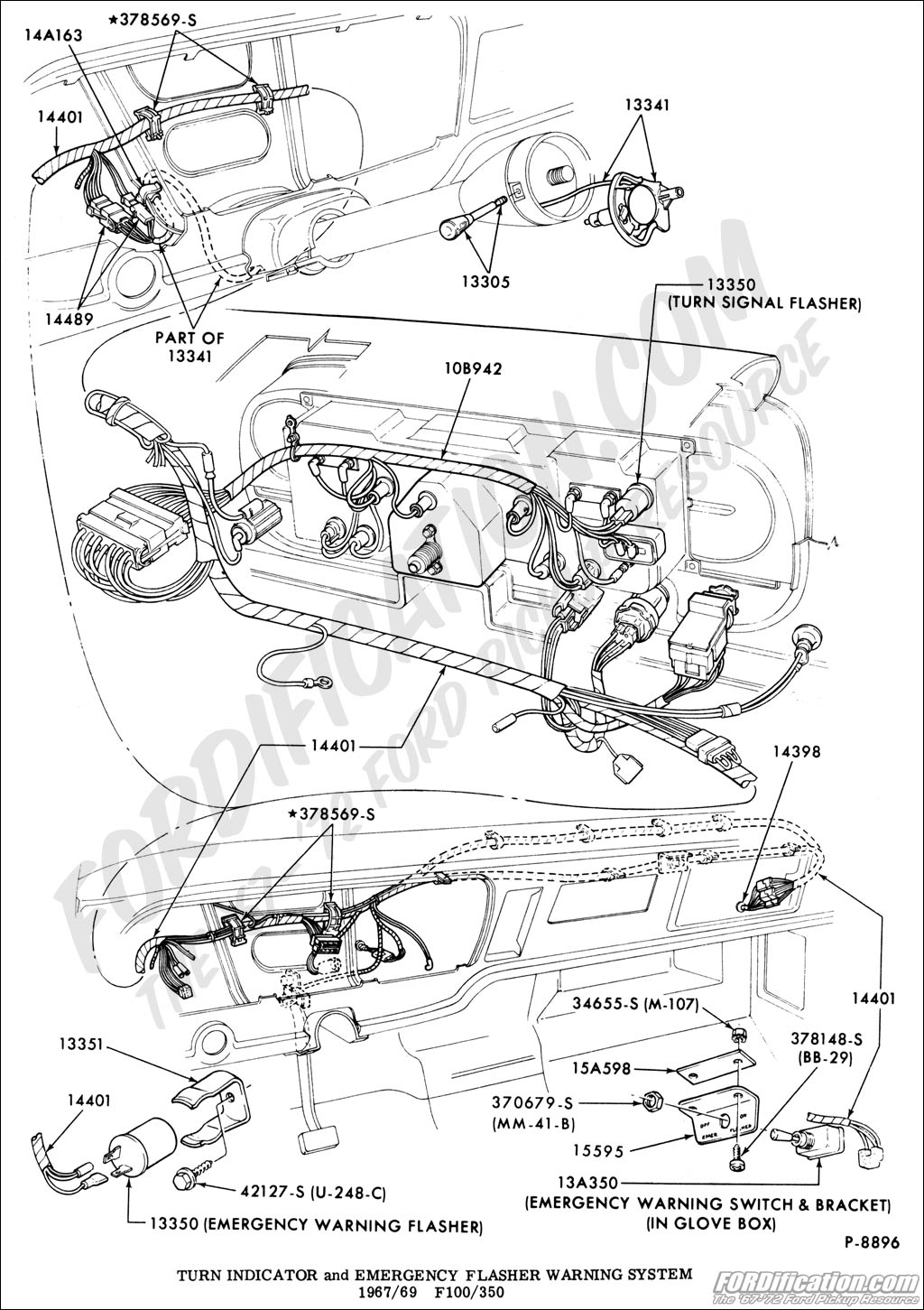 Ford F100 Turn Signal Wiring Diagram