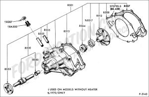 Ford Truck Technical Drawings and Schematics  Section E