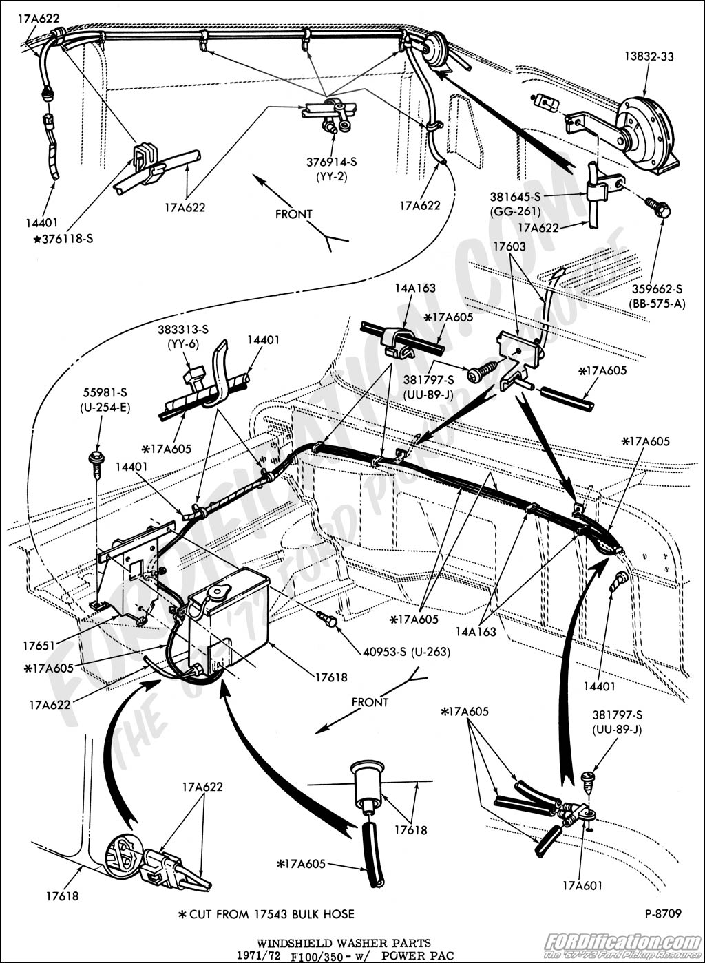 Ford Mustang Wiper Wire Diagram